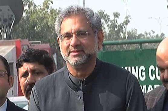 Govt involved in election theft: Shahid Khaqan Abbasi