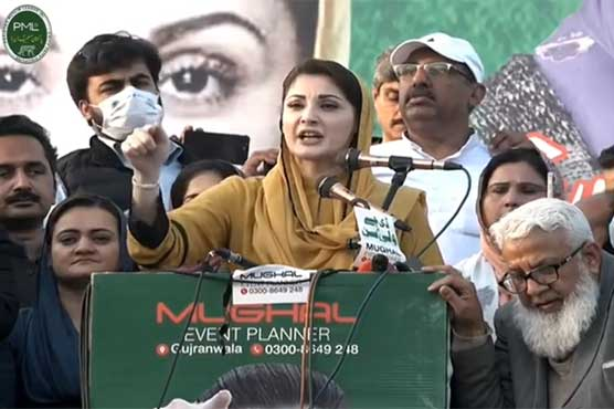 Maryam Nawaz asks ECP to expose those involved in vote theft