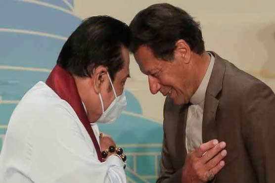 PM Imran thanks Sri Lanka for warm reception, gracious hospitality