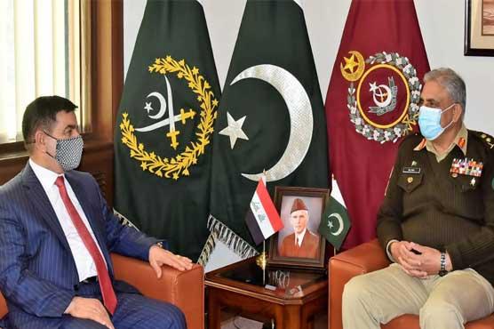 Pakistan recognizes sacrifices of Iraqi people in fight against terrorism: COAS