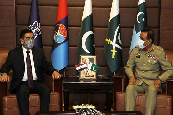 Iraqi defence minister lauds professionalism of Pakistani Armed Forces
