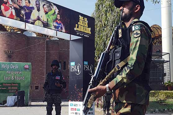 PSL-6 matches being played amid tighten security arrangements