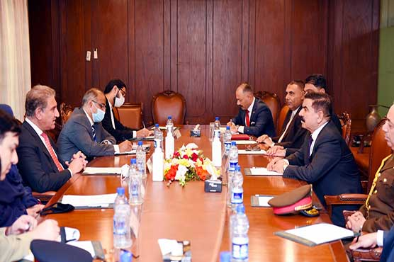 Pak, Iraq reaffirm desire to promote bilateral relations