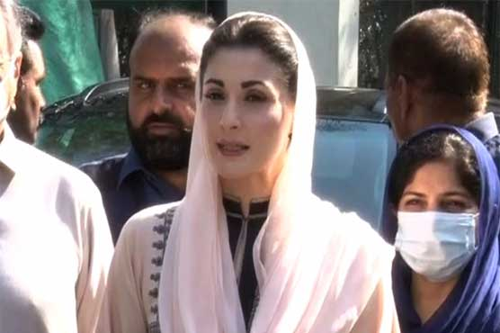 PTI lawmakers not willing to vote for their party: Maryam Nawaz