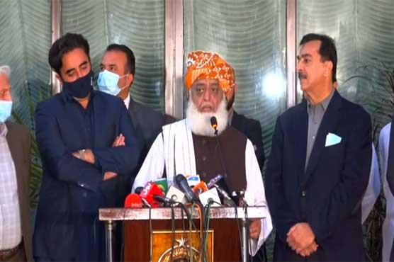 Opposition united for Senate elections: Fazlur Rehman