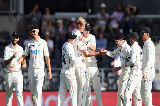 Second Test: Jamieson takes five, Pakistan all out for 297