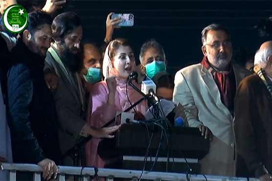 PDM's resignations from assemblies would end govt's game: Maryam Nawaz