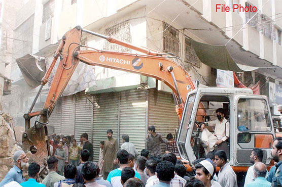 KMC fails to launch anti-encroachment operation in Karachi's Saddar area