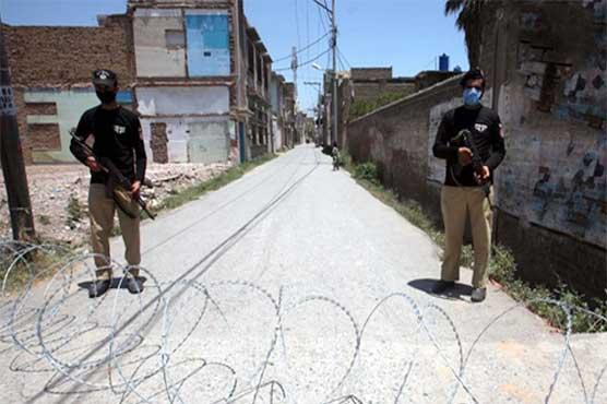 Five Peshawar neighborhoods to be placed under smart lockdown