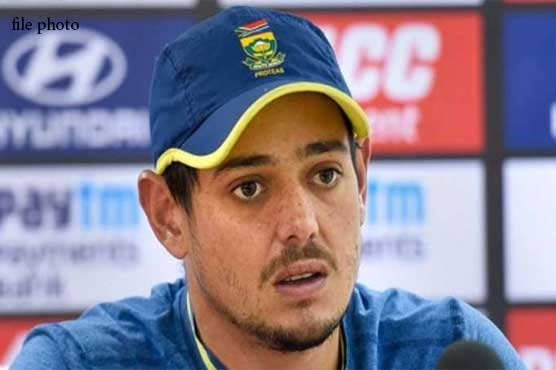 De Kock satisfied with security; says it will be difficult to beat Pakistan at home