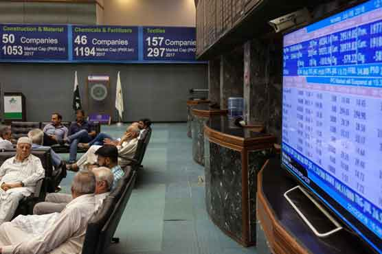 PSX turns around, gains 176 points to close at 45,903 points