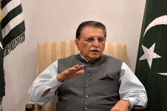 AJK PM asserts fulfilling pre-election-2016 promises in Azad Kashmir