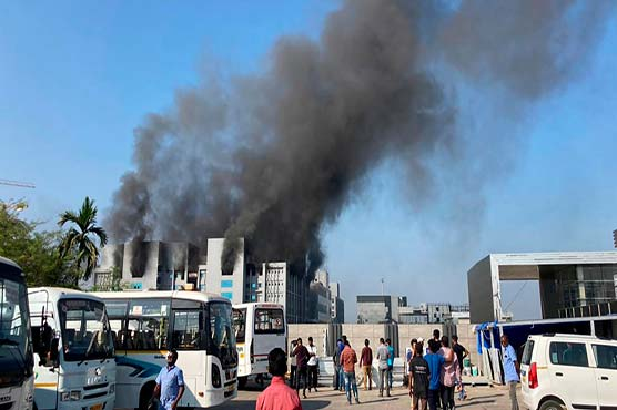 Fire at world's biggest vaccine maker in India