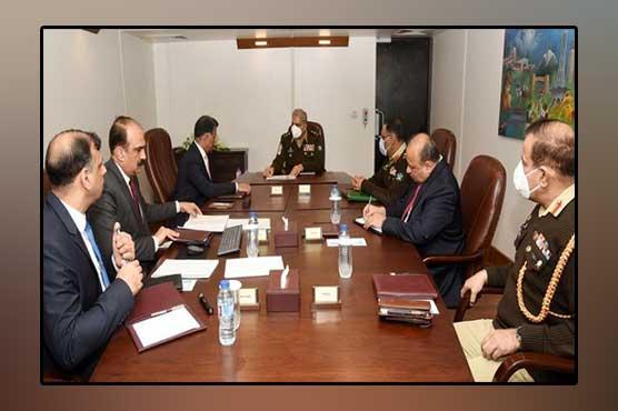 COAS General Qamar Javed Bajwa visits ISI Headquarters, Islamabad