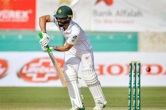 Karachi: Pakistan bat on day two of first South Africa Test