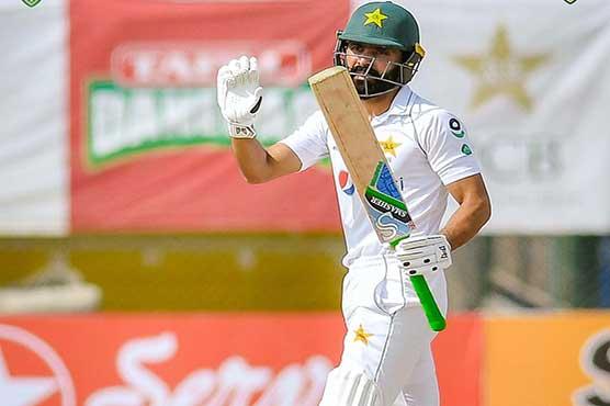 Fawad Alam slams third Test century