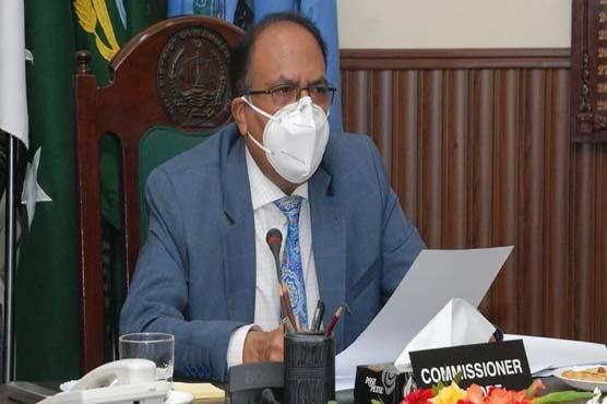 Commissioner reviews security arrangements for Pak-SA T20s