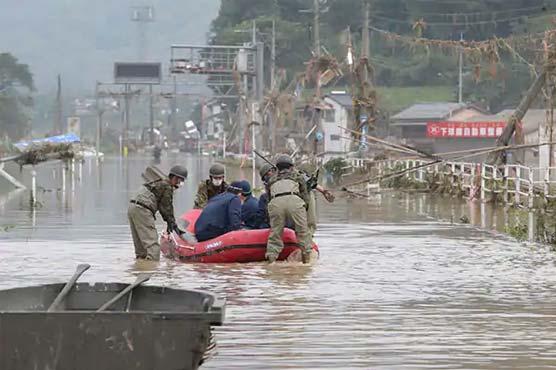 19 missing in Japan landslide after heavy rain: official