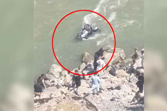 4 dead, 2 injured as car plunges into Neelum River