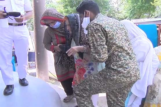 Pakistan Navy organizes medical camps in different areas of AJK