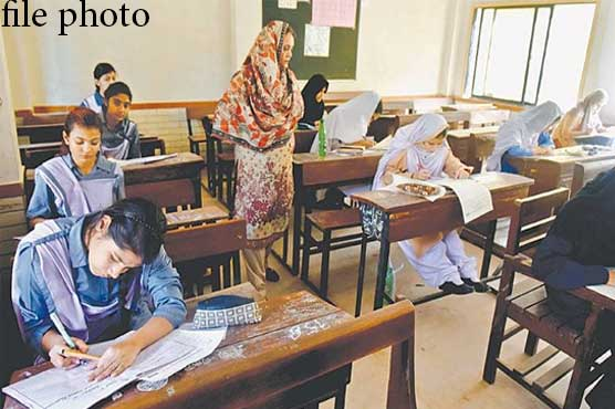 Matric exams commence across Sindh