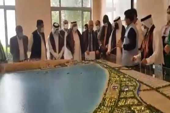Chairman GPA briefs envoys, journalists about Gwadar Port Operations