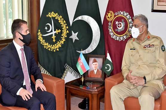 Azerbaijani envoy pays farewell call to COAS