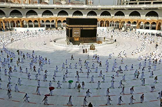 Saudi hosts vaccinated pilgrims for 2nd downsized hajj