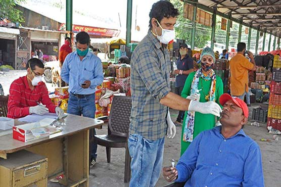 India reports 41,806 new COVID-19 infections in last 24 hours