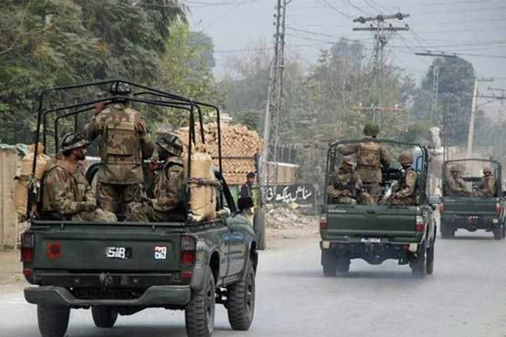 Two martyred as terrorists target security forces in Khuda Bux Bazar