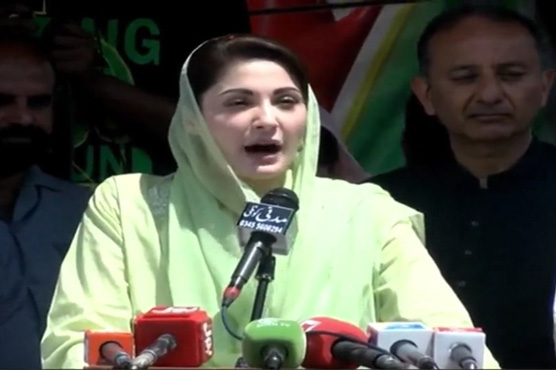 Supporters of Nawaz Sharif in every corner of Kashmir: Maryam