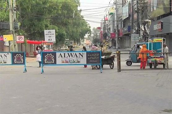 Smart lockdown imposed in five localities of Gujranwala