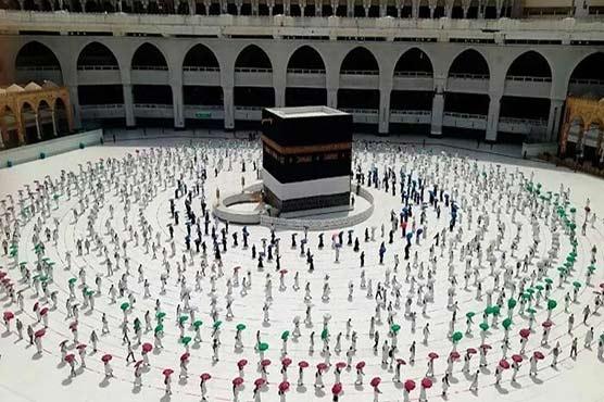 Annual Hajj rituals begin with arrival of pilgrims in Mina