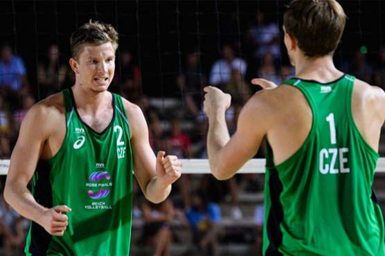 Czech volleyball player tests positive in Olympic Village