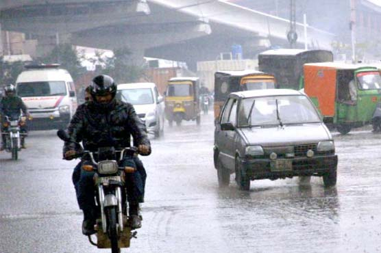 Heavy rain disrupts power supply in different parts of Lahore