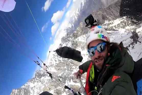 European paraglider 'Antoine Girard' set new paragliding world record
