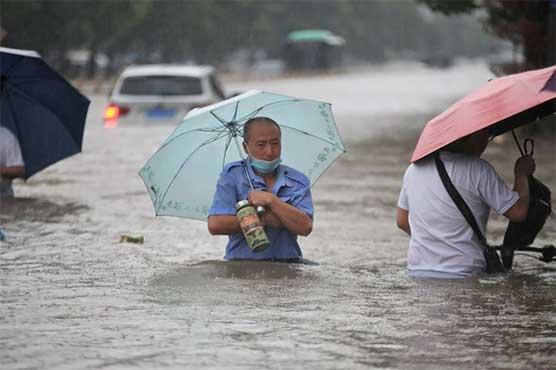 Record rains kill 25 in central China