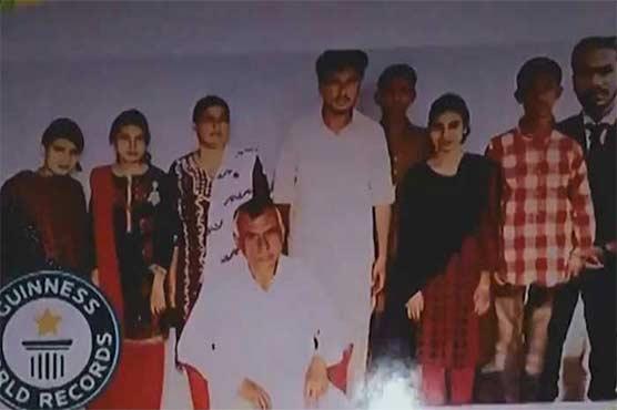 پاکستانی کا انوکھا ریکارڈ: ملازمت، شادی اور 7 بچوں کی ولادت کی ایک ہی تاریخ