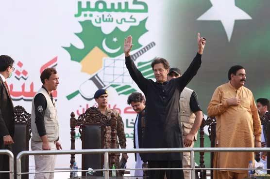 PM Imran promises Kashmiris a referendum to decide future