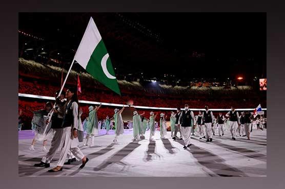 ٹوکیو اولمپکس: افتتاحی تقریب میں شاندار آتشبازی ، پاکستانی دستہ بھی شریک