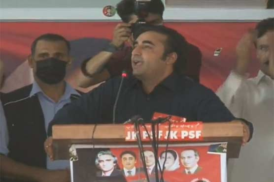 Whenever puppet PM opens mouth on Kashmir he commits mistakes: Bilawal