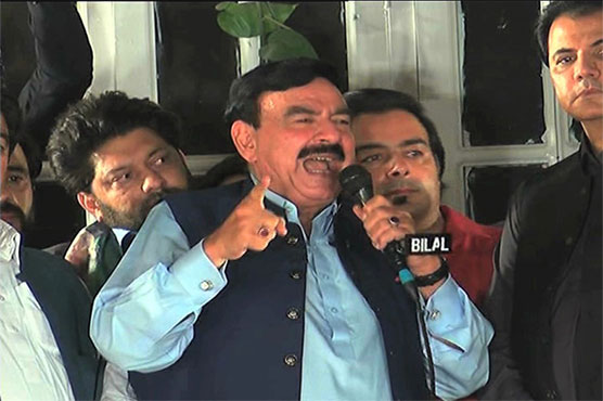 People of AJK to give mandate to PTI on July 25: Sheikh Rasheed