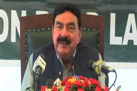 Sheikh Rashid hopeful of PTI's victory in AJK elections