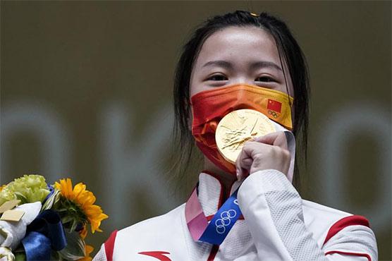 ٹوکیو اولمپکس، میڈلز کی دوڑ میں چین نے پھر ٹاپ پوزیشن حاصل کر لی