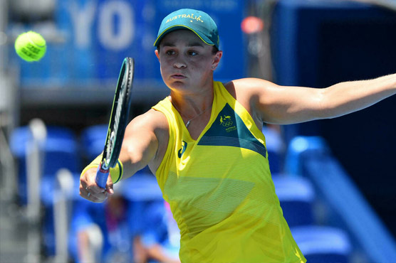 World No.1 Barty suffers shock defeat in first round of Olympics