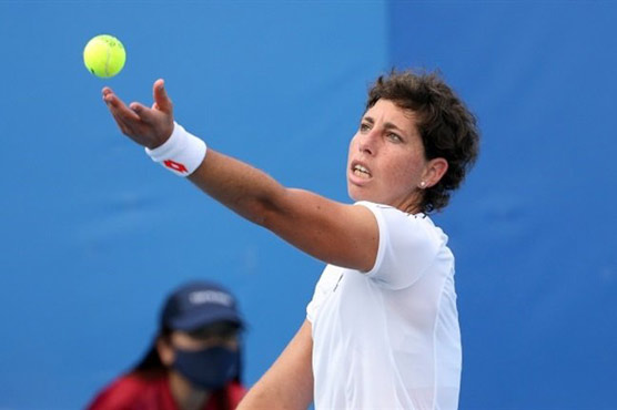 Suarez Navarro earns first win since cancer recovery at Olympics