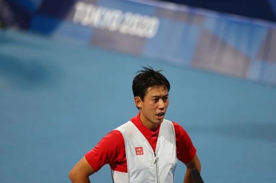 Nishikori upsets fifth seed Rublev on home soil