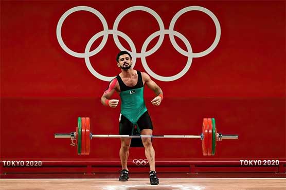 ٹوکیو اولمپکس ویٹ لفٹنگ، طلحہ طالب نے شاندار پرفارمنس سے دل جیت لیے