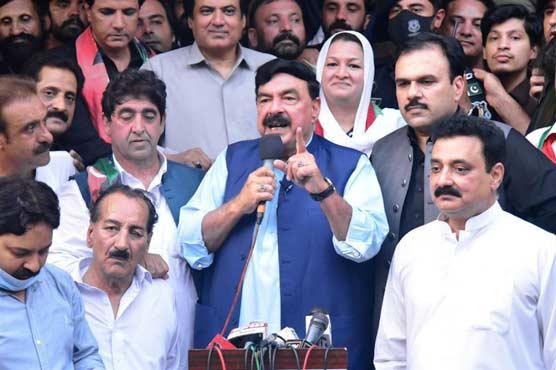 AJK elections: Sh Rashid announces victory of 'rickshaw driver' on PTI ticket