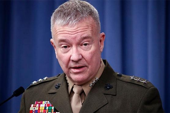 افغان فوج کی درخواست پر طالبان پر بمباری تیز کر دی: امریکی جنرل